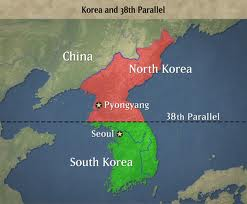 korea divided at the 38th parallel after wwii the korean war